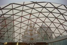 不锈钢玻璃大顶棚