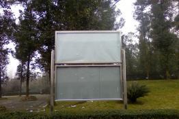 不锈钢展示牌